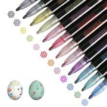12 Colors Marker Pen Double Lines Contour Colored Outline Marker Diy Album Scrapbooking For Drawing Painting Doodling School