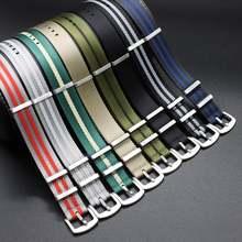 Ремешок нейлоновый для наручных часов сменный Браслет в стиле