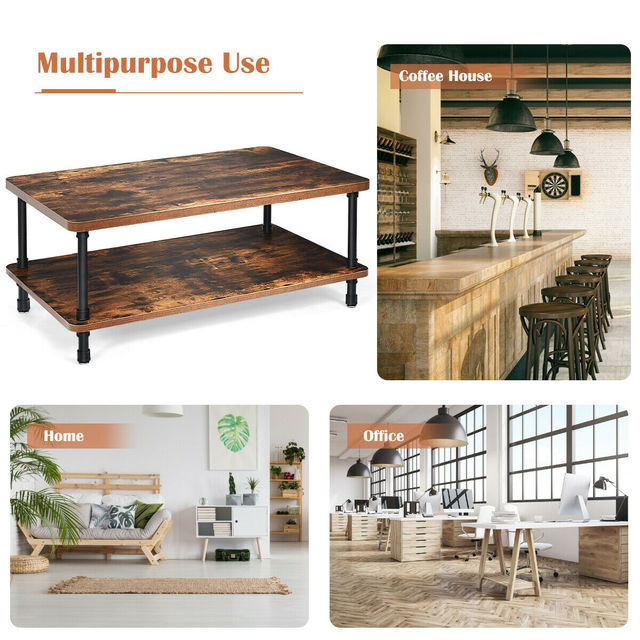 Industrial Coffee Table  5