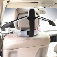 1pcs Multifunctional Car Seat Hook Hanger Headrest Coat Hanger Clothes Suits Holder High Quality Car Seat Back Jacket Holder