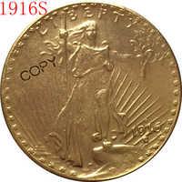 EUA 1916-S $20 St. Gaudens copia de monedas