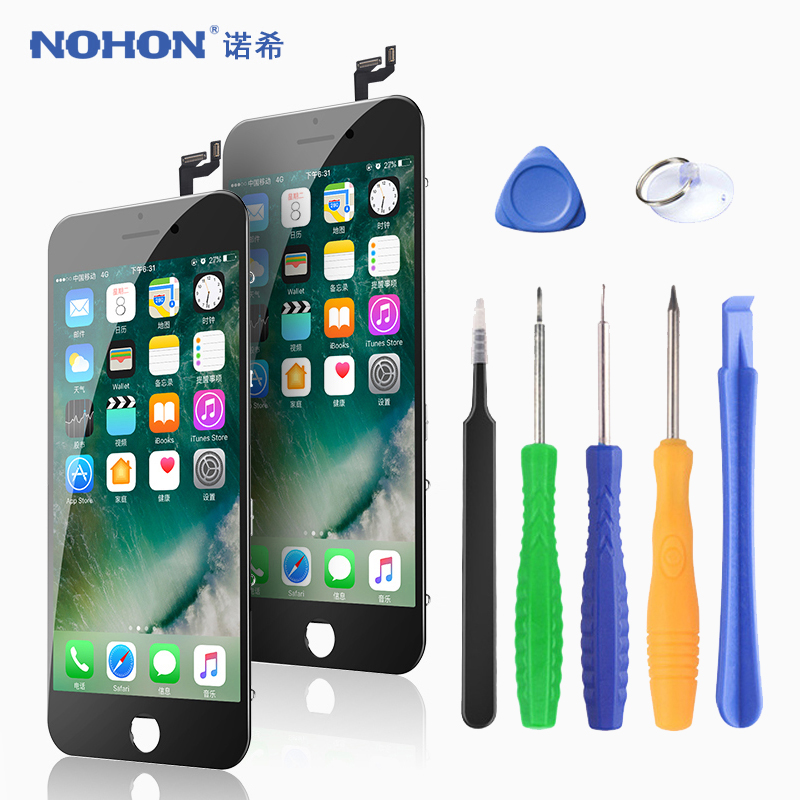 NOHON LCD Display For iPhone 6 6S 7 8 Plus X 6SPlus 7Plus 8Plus Screen 3D Touch Digitizer Assembly Replacement Phone LCDs AAA++(China)