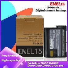 Аккумуляторная батарея 7,0 в 1900 мАч для Nikon D600 D610 D600E D800 D800E D810 D7000 7100 d750 V1