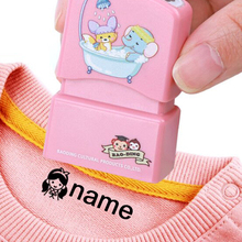 Toy Name-Stamp Gifts Children's-Seal Customized Baby Waterproof QWZ New Student Chapter-Wash