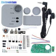 HX3208 FM Micro SMD Radio FM modulacja częstotliwości Radio wysoka wrażliwość produkcja elektroniczna zestaw szkoleniowy zestaw DIY