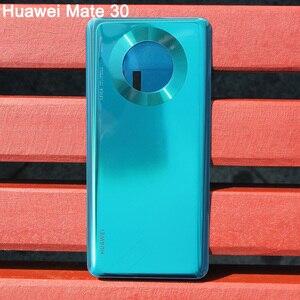 Image 5 - Huawei carcasa trasera Original para móvil, carcasa protectora para Huawei Mate 30 Pro 5G Mate30