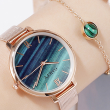 Bracelet Watch Jewelry Water-Drill Rose-Gold Female Casual Ladies Luxury Gaiety Hour