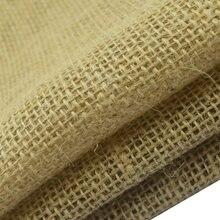 40x30cm natural juta serapilheira tecido de linho para o natal hessian rústico casamento decoração sacos de armazenamento flor diy mão trabalho pano