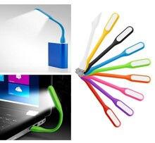 Mini lampe d'ordinateur de lumière LED USB multicolore Portable pliable pour ordinateur Portable