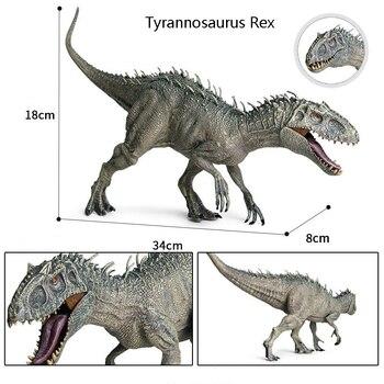Large Single Jurassic Sale Dinosaurs Park Pterosauria Velociraptor Indomirus T-Rex World Figures Dinosaur Toys Animals Model