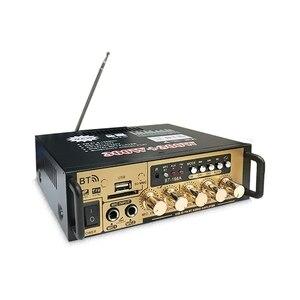 Image 4 - Hot 3C 600W Audio Power Amplifier with EU Plug 12/220V 2CH Mini HIFI Bluetooth Digital Audio Amp for Home /Car