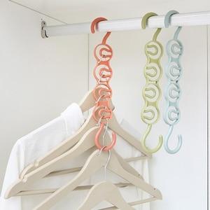 Pants Hanger Space Saving Multi Layer Storage Closet Rack Hanger Belt Scarf Trousers Tie Hangers Holders Non-slip Magic Hanger