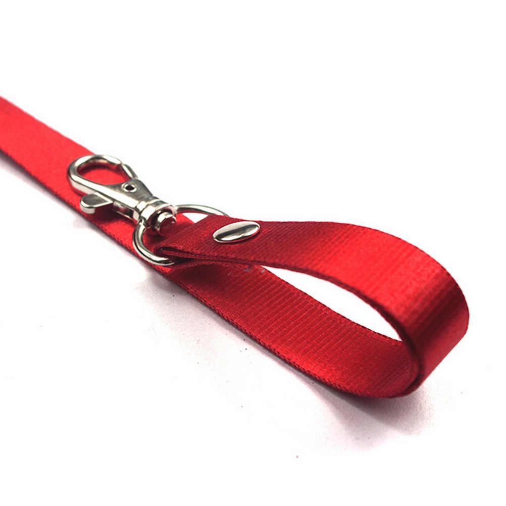 2020 1 Pza soporte USB insignia de identificación para nombre titular llaves Clip de Metal correa de cuello cordón de seguridad para teléfono móvil