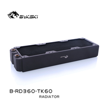 Bykski B RD360 TK60, 360mm Triple Reihe Heizkörper, 60mm Dicke, Standard Wasser Kühlung Heizkörper, geeignet Für 120*120mm Fans