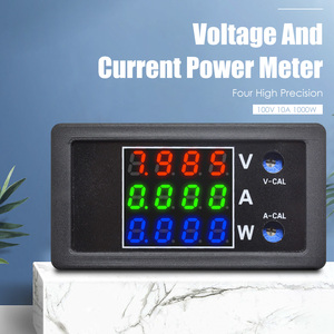 DC 0-100V 10A 1000W Digital LED Voltmeter Ammeter Wattmeter Voltage Current Power Supply Energy Meter Detector Tester Monitor(China)