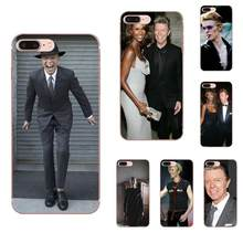 Soft Pattern New David Bowie For Samsung Galaxy A10 A20 A30 30S A40 A50 A50S A60 A70 A70S A80 A20E A51 A71 A9 2018(China)