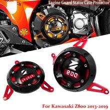 Para kawasaki z800 2013 2014 2015 2016 2017 2018 2019 motor de moto estator caso capa acidente slider protetor guarda z800 z 800