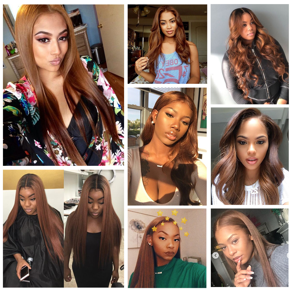 BEAUDIVA Body Wave Bundles #4 Brown Colored  Bundles  Body Wave  Bundles  #2 #4 Hair s 3