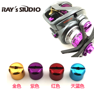 DIY colorful level wind cap on the reels from Daiwa(China)