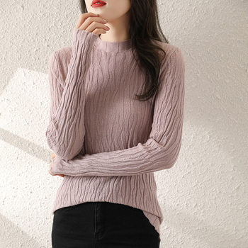 women-autumn-and-winter-fashion-slim-wool-sweater-pure-color-knitted-long-sleeved-cashmere-sweater-new-products-frseucag-brand
