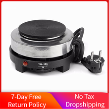Mini Electric Burner Hot Plate Multifunction 500W Home Coffee Tea Water Heater Electric Stove Cooker Home Kitchen Appliance cheap ShanDun CN(Origin) Metal Solid Hotplate 220V~230V 50HZ 60HZ electric mini cooker cooking tools