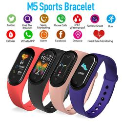 M5 Smart band 5 Fitness Tracker Watch Sport bracelet Heart Rate Blood Pressure Smartband Monitor Health Wristband Men Women New