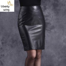 Quality Hot Sale Office Lady Genuine Leather Sheepskin High