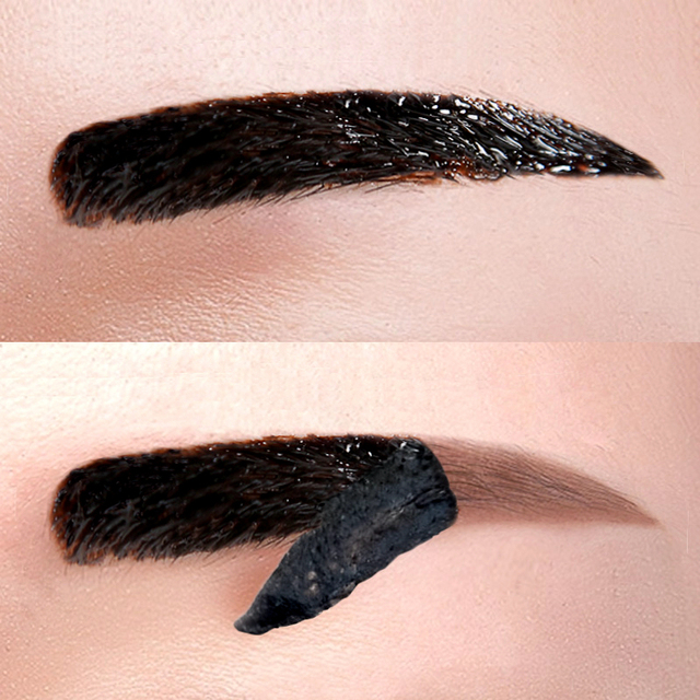 Lazy Makeup Eyebrow Enhancers Liquid Gel Long Lasting Waterproof Easy to Wear Tear Peel-off Brow Tattoo Tint Eyes Brows Natural