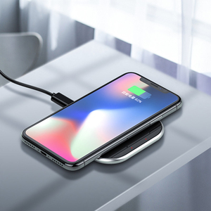 Image 4 - ORICO 10W Wireless Charger For iPhone X/XS Max XR 8 Plus Mirror Wireless Charging Pad For Samsung S9 S10+ Note 9 8