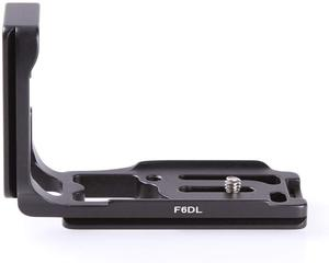 Image 4 - F6DL Metal L shaped Quick Release Plate Vertical shoot Camera Bracket Holder Grip for Canon EOS 6D