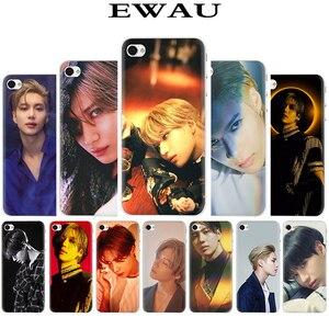 Жесткий чехол для телефона EWAU KPOP SHINee Taemin, чехол для iphone SE 2020, 5, 5S, SE 5C, 6, 6s Plus, 7, 8 Plus, X, XR, XS, 11 Pro MAX