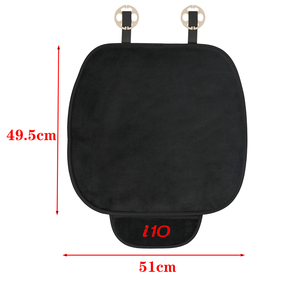 Image 2 - 1 pc carro de pelúcia quente almofada do assento capa almofada de assento tapete para hyundai i10