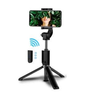 Image 1 - Gậy Selfie Bluetooth 3 Chân Cho Điện Thoại Thông Minh Xiaomi Huawei iPhone 11 Pro Max 8 7 Samsung Galaxy S20 S10 Plus giá Đỡ Đứng