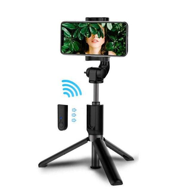 Gậy Selfie Bluetooth 3 Chân Cho Điện Thoại Thông Minh Xiaomi Huawei iPhone 11 Pro Max 8 7 Samsung Galaxy S20 S10 Plus giá Đỡ Đứng