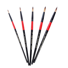 Kit Paint-Brush-Set Oil-Watercolor Drawing-Tools Acrylic Black for Drop-Ship Support