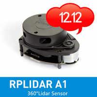 Slamtec RPLIDAR A1 2D 360 stopni 12 metrów promień skanowania skaner lidar do unikania przeszkód i nawigacji robotów