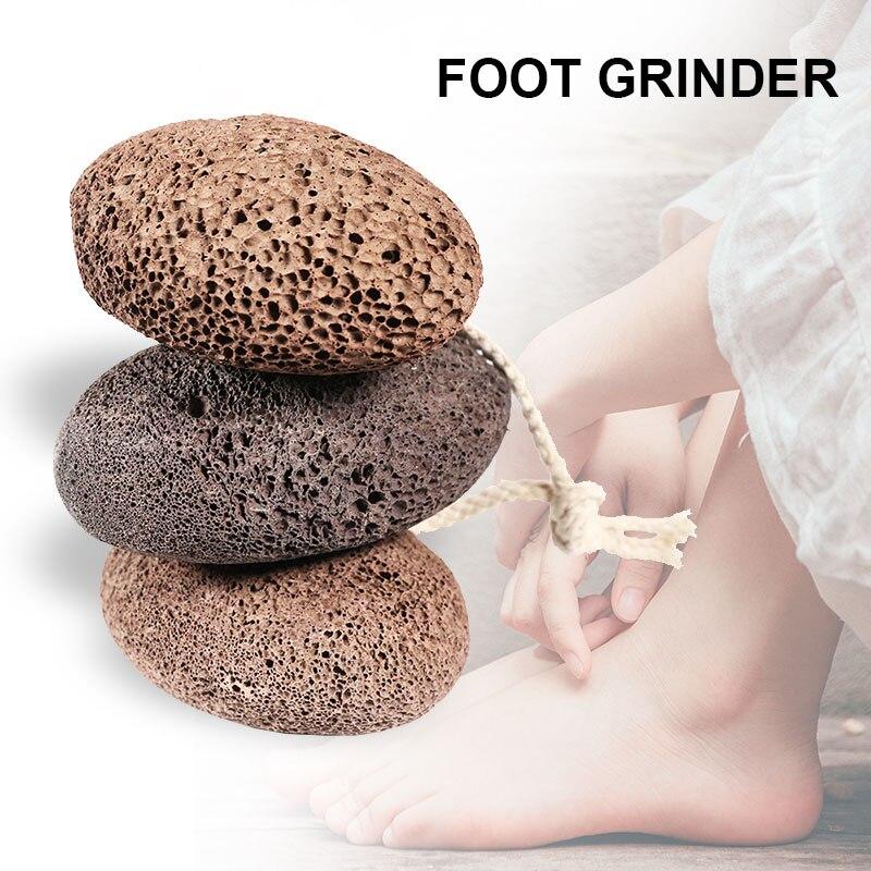Pumice Stone For Feet Hard Skin Callus Remover Scrubber Home Pedicure Exfoliation TZC99