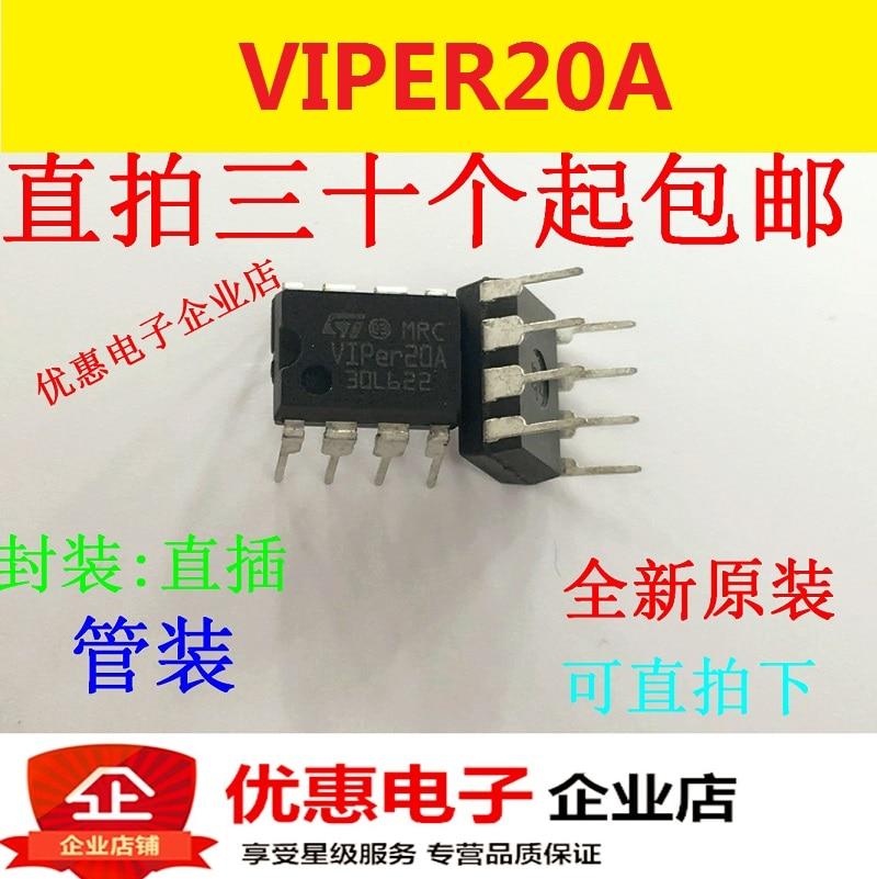 10PCS VIPER20A VIPER20ADIP  DIP-8 Brand New Original