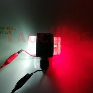 Image 5 - 2Pcs Marker Lights For Car Trailer Position Light Truck Tractor Rear Clearance Lamp LED Red White 12V 24V Parking Side Lights