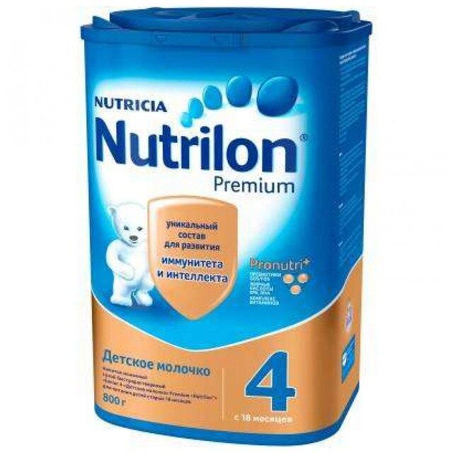 Молочная смесь Nutrilon Premium 4 с 18 мес 800 гр