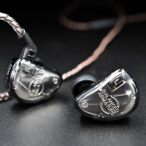Image 4 - KZ AS06 3BA Drive In Ear Earphone 3 Balanced Armature Detachable Detach 2PIN Cable HIFI Monitor Sports Earphone  Custom Earphone