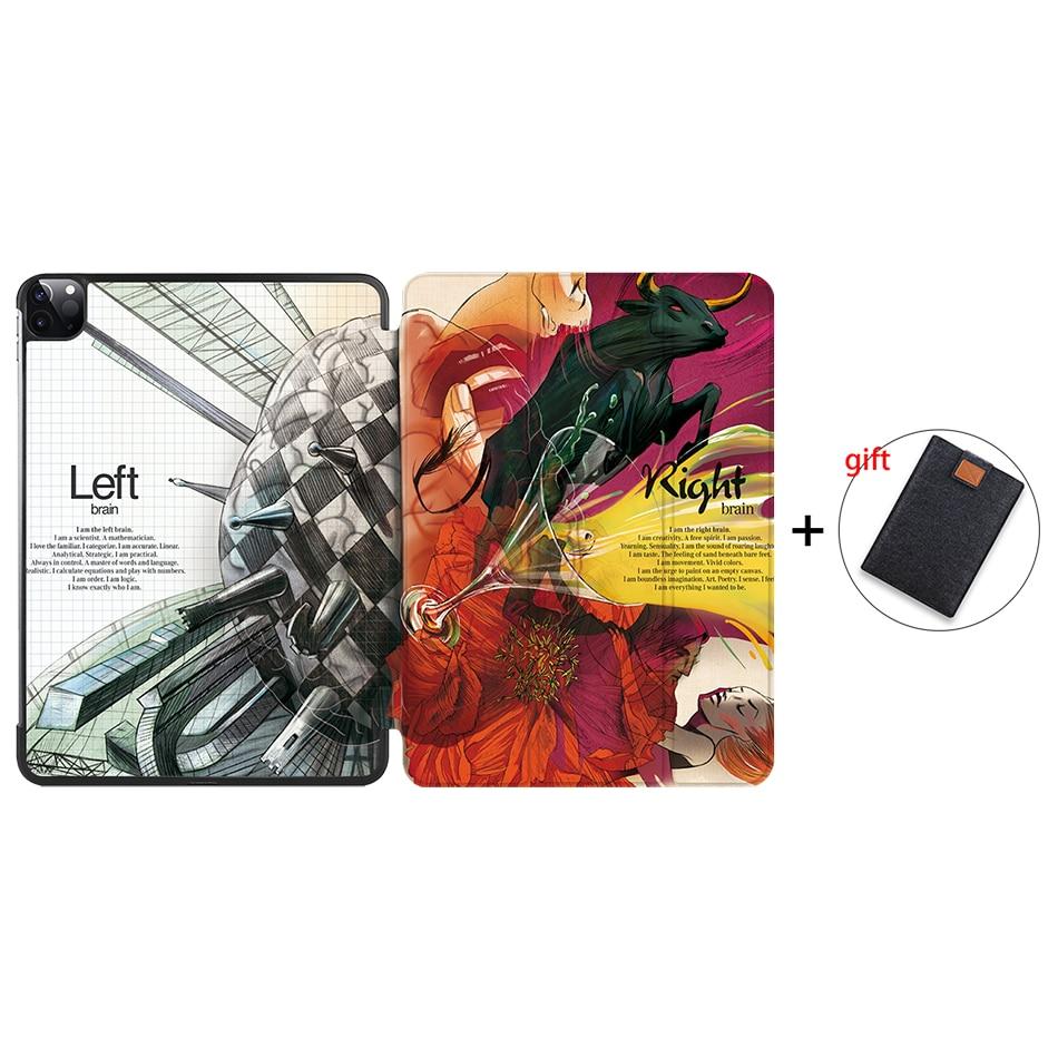 IP06 Black MTT Case For iPad Pro 11 inch 2nd Gen 2020 Funda A2228 A2231 Slim PU Leather