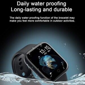 Image 5 - T80 النساء أسورة ساعة ذكية ضغط الدم مراقب معدل ضربات القلب جهاز تعقب للياقة البدنية الفرقة Smartwatch ل أندرويد