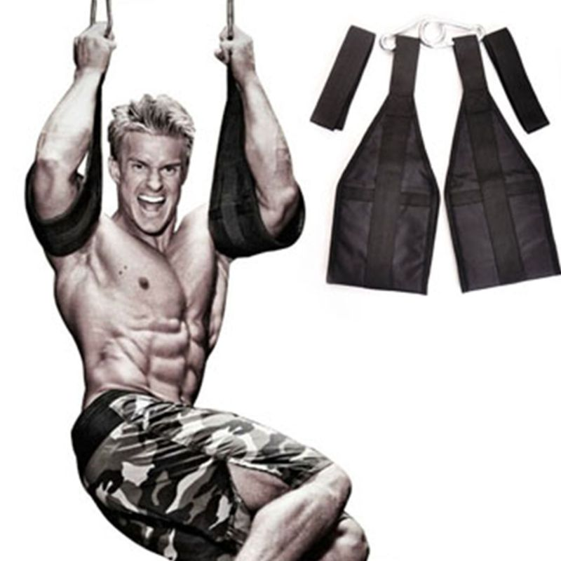 Pull-up Movement Hanging Door Straps Weight Lifting Sling AB-Crunch Gym Chinning Bar Hanging Abdomen Leg Fitness Train image