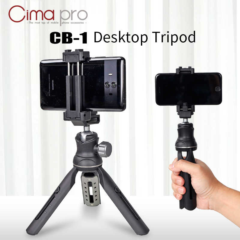 Universal Portable Mini Flexible Tripod Mobile Stand Digital Camera Mount CB