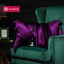 Sondeson женский высококачественный атласный Шелковый фиолетовый