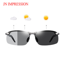 Photochromic Sunglasses Men Polarized Chameleon Glasses Male
