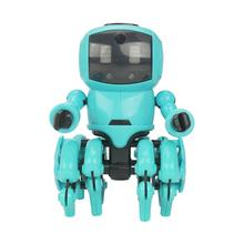 Newest High Quality 8legs Smart Robot Toy DIY Assembly Follow Obstacle Avoidance Playful Robot Toys For Kids