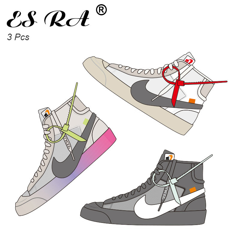 10CM Stickers Sneakers Waterproof PVC Pegatinas Shoes Boots Cool Stickers For Laptop Skateboard Guitar Joural Bridge Decorate