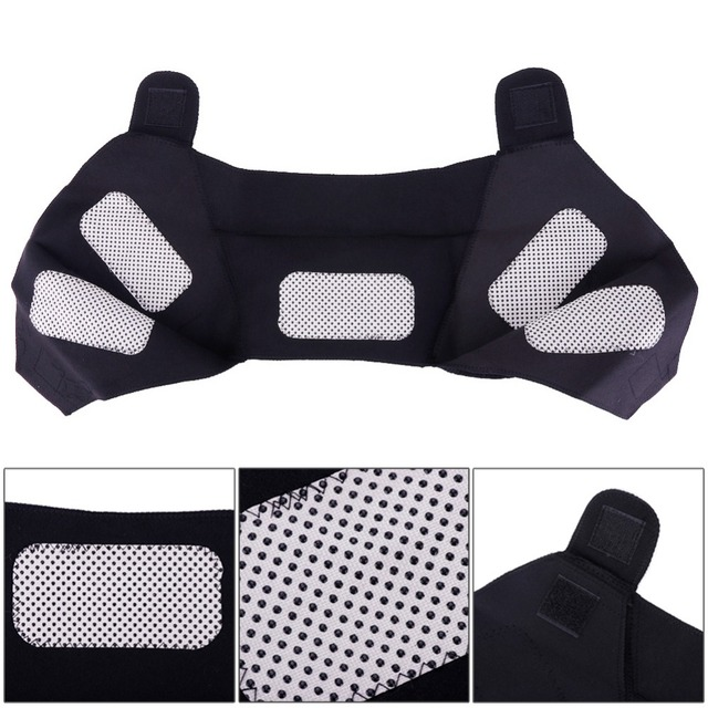 Tourmaline Self-heating Unisex Heat Therapy Pad Shoulder Protector Support Body Muscle Pain Relief Health Care Heating Belt 3